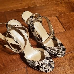 Marc Fischer Snake skin Shoes